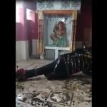 सामने आया पाकिस्तान के एक मंदिर का हैरान करने वाला वीडियो